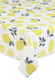 Lemon PVC Tablecloth