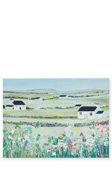Janet Bell Landscape Canvas