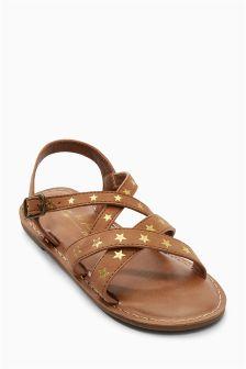 Star Sandals (Older Girls)