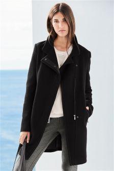 Zip Pocket Coat