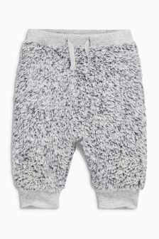 Grey Furry Joggers (0mths-2yrs)