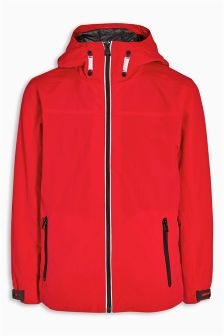 Red Sporty Anorak (3-16yrs)