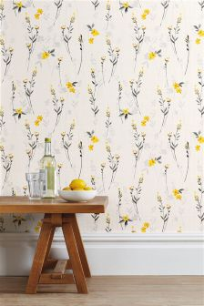 Eden Floral Wallpaper