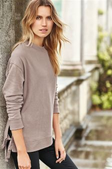 Tie Side Sweater