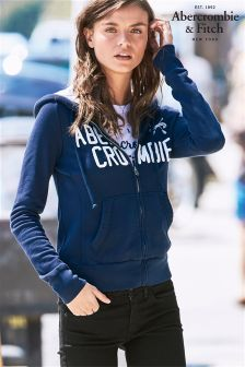 Abercrombie & Fitch Core Zip Through Hoody