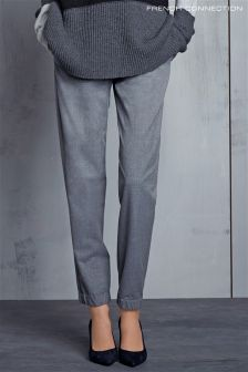 French Connection Grey Winter Flannel Trouser