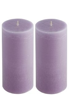 Set Of 2 Coloured Candles