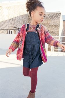 Multicolour Chunky Knit Cardigan (3mths-6yrs)