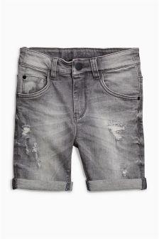 Denim Five Pocket Shorts (3-16yrs)