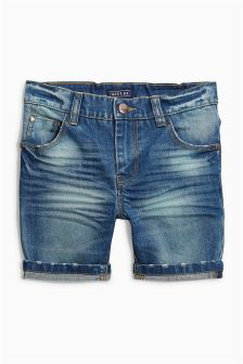 Denim Five Pocket Shorts (3-16yrs)