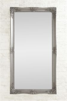 Charlotte Pewter Floor Mirror