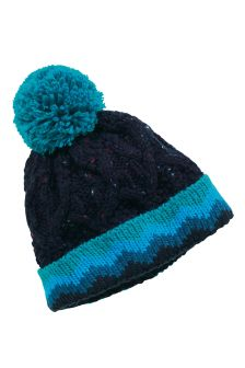Blue Pom Beanie (Younger Boys)