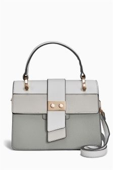 Grey Lock Front Bag
