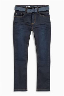 Rinse Belted Skinny Jeans (3-16yrs)
