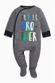 Grey Brother Sleepsuit (0-18mths)