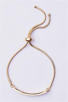 Sparkle Pully Bar Bracelet
