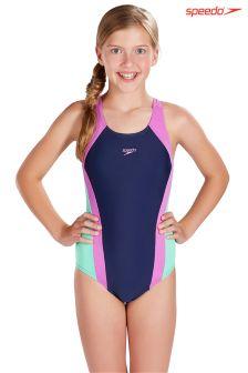 Speedo® Panel Splashback Swimsuit