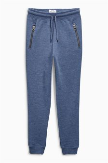 Blue Drop Crotch Skinny Joggers (3-16yrs)