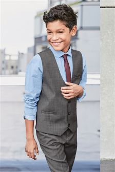 Grey Waistcoat Set (12mths-16yrs)