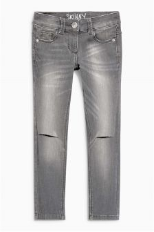 Knee Ripped Skinny Jeans (11-16yrs)