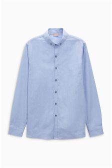Blue Long Sleeve Oxford Shirt (3-16yrs)