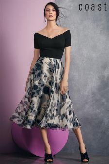 Coast Multi Oali Print Kardianna Dress