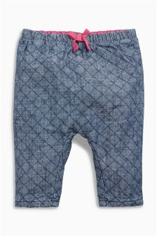 Chambray Trousers (0mths-2yrs)