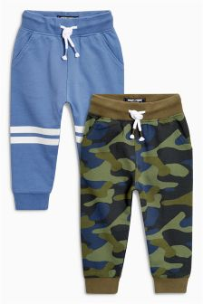 Camouflage/Blue Joggers Two Pack (3mths-6yrs)