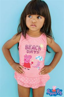 Pink Peppa Pig™ Skirted Swimsuit (3mths-6yrs)