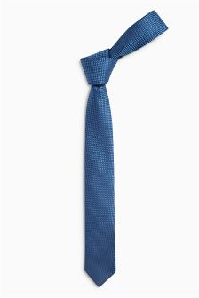 Blue Smart Tie (Older Boys)