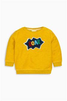 Yellow Roar Slogan Jumper (0mths-2yrs)
