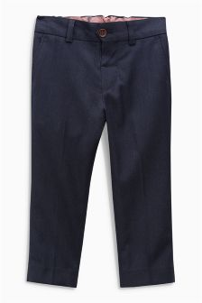Navy Suit Trousers (12mths-16yrs)