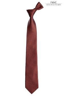 Rust Signature Pattern Tie