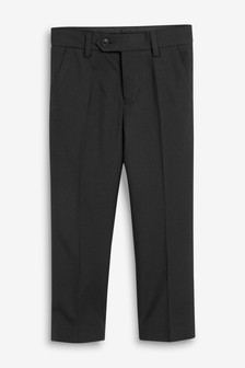 Black Suit Trousers (12mths-16yrs)