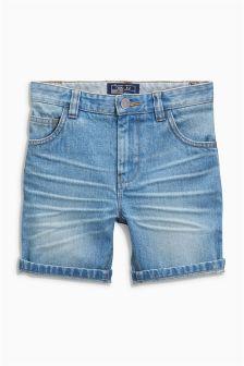 5 Pocket Denim Shorts (3-16yrs)