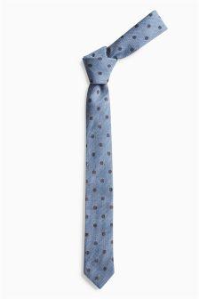 Blue Spot Tie (Older Boys)