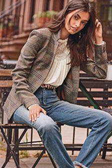 Wool Blend Heritage Jacket