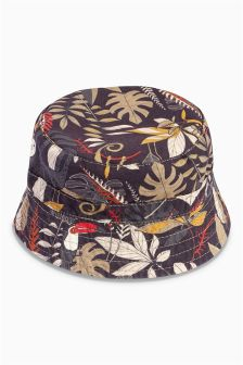 Printed Fisherman's Hat (0mths-2yrs)