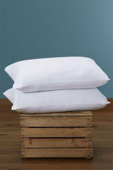 Set Of Two Anti-Allergy Pillows