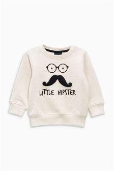 Oatmeal Little Hipster Crew (3mths-6yrs)