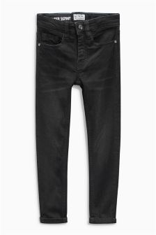 Black Super Skinny Jeans (3-16yrs)