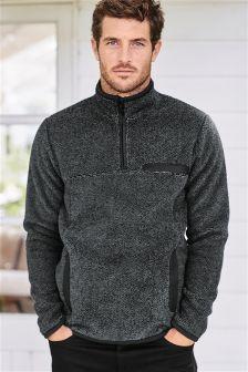 Charcoal Overhead Fleece