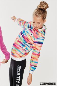 Converse Multicolour Full Zip Packable Jacket