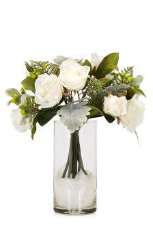 White Rose Floral Bouquet