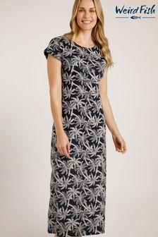 Khaki Animal Longline Sweater