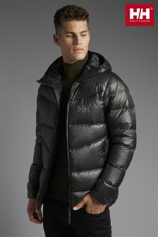 Helly Hansen Black/Grey Icefall Down Jacket