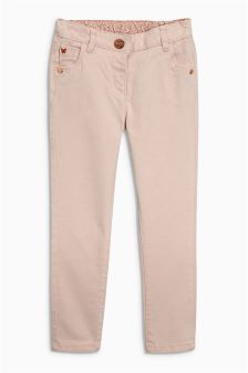 Pink Skinny Trousers (3mths-6yrs)