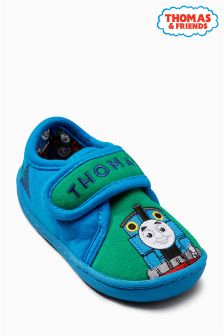 Green Thomas Slippers (Younger Boys)