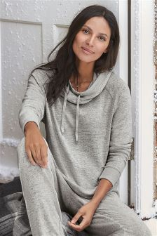 Grey Soft Touch Hoody