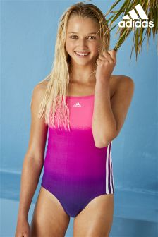 adidas Pink Dip Dye Swimsuit